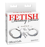 Pipedream Products Fetish Fantasy Official Metal Cuffs