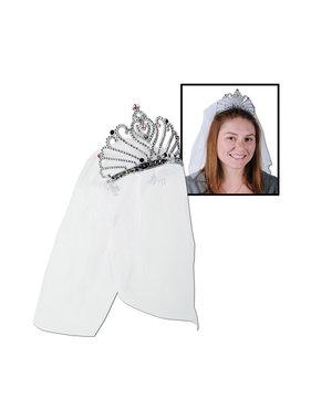 Bachelorette Tiara with Veil