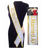Little Genie Soon to be Married AF Bachelorette Sash