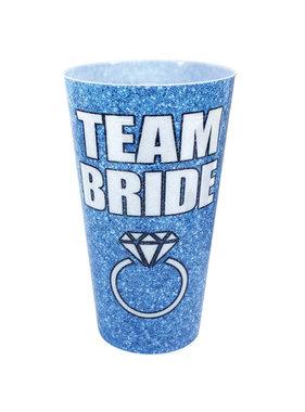 Team Bride Drinking Cup (Blue)