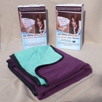 NoMoreWetSpot No More Wet Spot Waterproof Blanket Regular