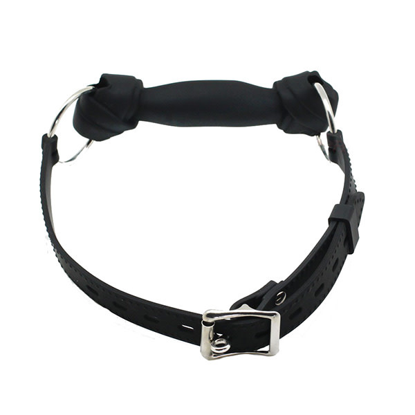 Premium Products Dog Bone Gag (Black)