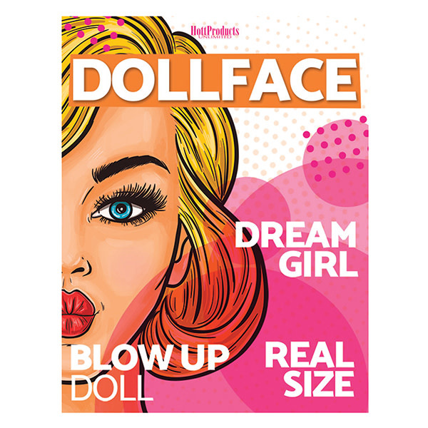 Hott Products Doll Face Female Party Doll