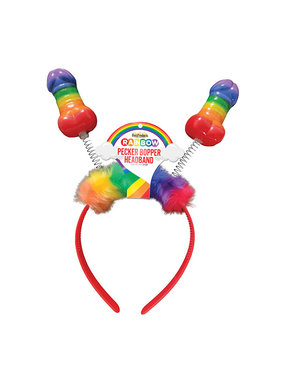 Hott Products Rainbow Pecker Bopper Headband