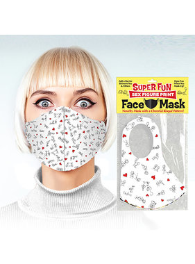 Candyprints Super Fun Sex Position Print Face Mask