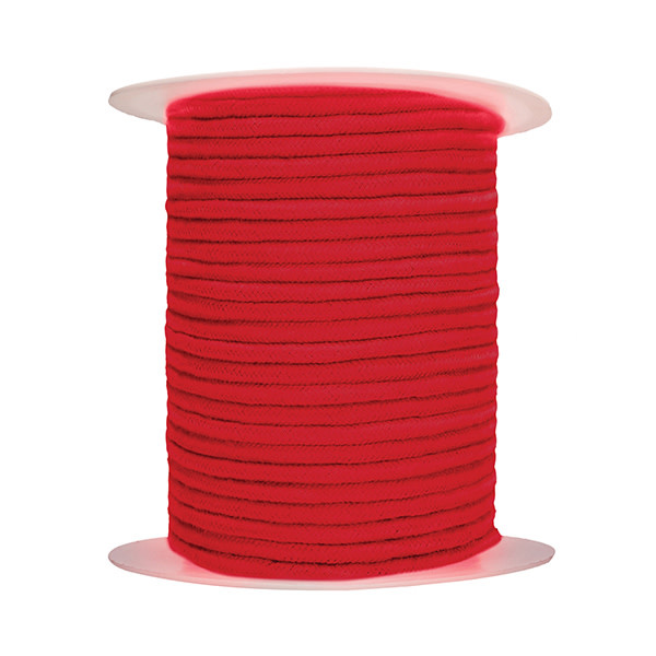 Shots America Toys Ouch! 100 Meter Thick and Soft Bondage Rope (Red)