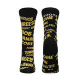Shots America Toys Sexy Socks: Sexy Words (Female Fit)
