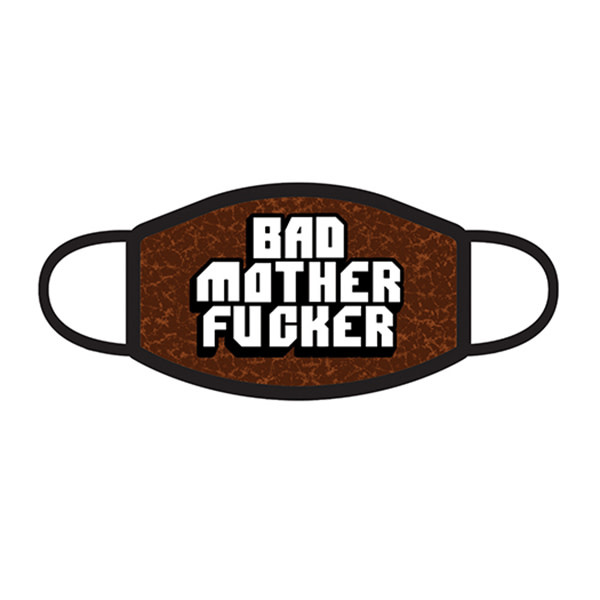 Wood Rocket Bad Mother Fucker 3-Ply Face Mask