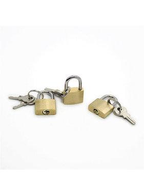 Premium Products Metal Mini Lock with Keys (Each)