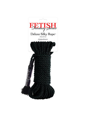Pipedream Products Fetish Fantasy Series Deluxe Silk Rope (9.75 m) (Black)