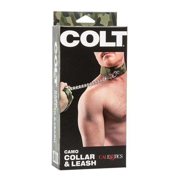 Cal Exotics Colt Camo Collar & Leash