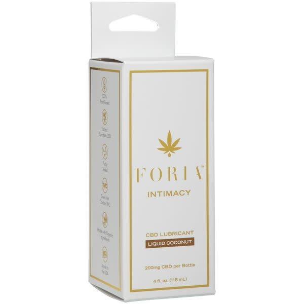Foria Wellness Foria: CBD Liquid Coconut Lubricant 4 oz (118 ml)