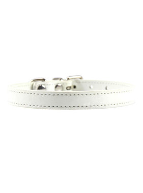 Premium Products Basic Buckle Collar (White)