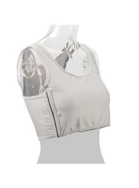 Premium Products Chest Compression Binder: Tank Style (White)