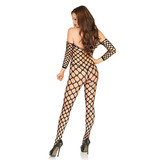 Leg Avenue Off the Shoulder Bodystocking (One Size)