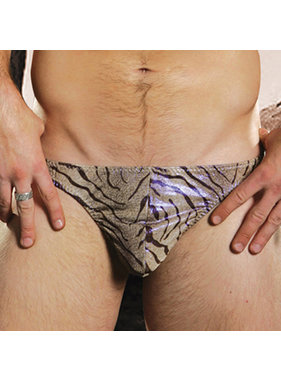Sunspice Lingerie Male Thong: Zebra (Assorted Colours)