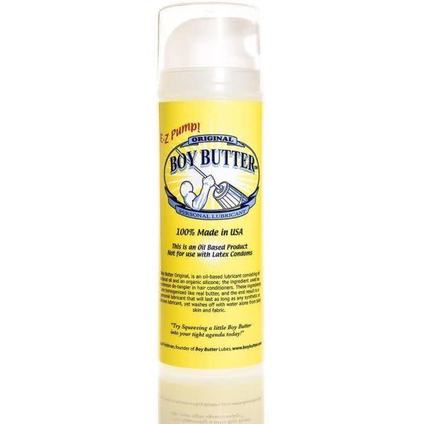 Boy Butter Personal Lubricant Boy Butter Original Oil Lubricant 5 oz
