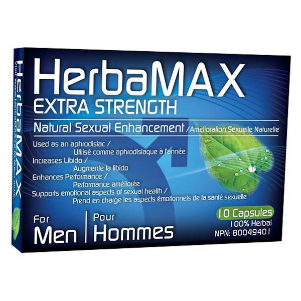 HerbaMAX HerbaMAX For Men: 10 Pack