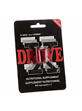 DriveX Male Enhancement Pills: 2 Pack