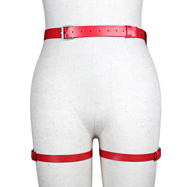 Premium Products Kamilla Hip & Thigh Harness (Red)