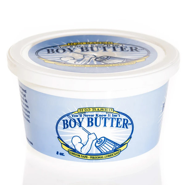 Boy Butter Personal Lubricant Boy Butter H2O Lubricant Tub 8 oz (227 g)