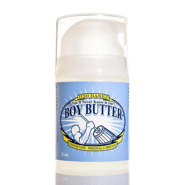 Boy Butter Personal Lubricant Boy Butter H20 Lubricant Mini Pump 2 oz (57 g)
