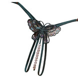 Premium Products Butterfly Pearl Thong (Green)