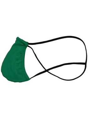 Premium Products Men's Stretchy Pouch Thong (Green)