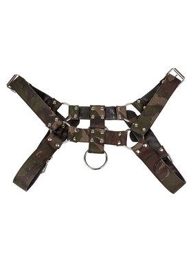 Cal Exotics Colt Camo Chest Harness