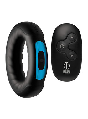 XR Brands Trinity Vibes Remote Control 7X Silicone Cock Ring