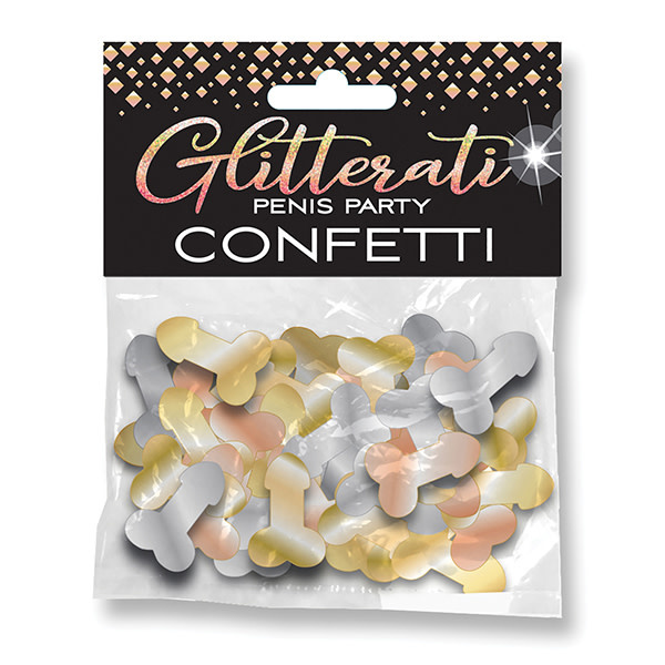 Candyprints Glitterati Penis Party Confetti