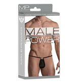 Male Power Front Ring G-String (Black)