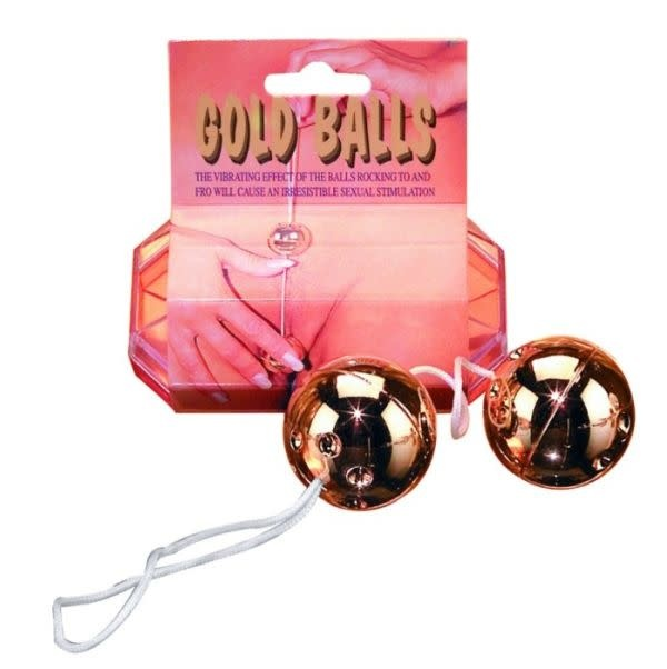 Pipedream Products Gold Orgasm Balls