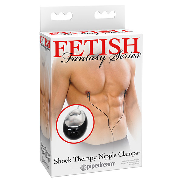 Pipedream Products Fetish Fantasy Shock Therapy: Nipple Clamps