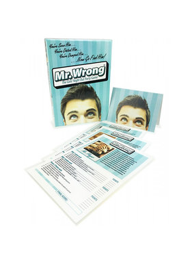 Mr. Wrong Girls Night Out Party Game