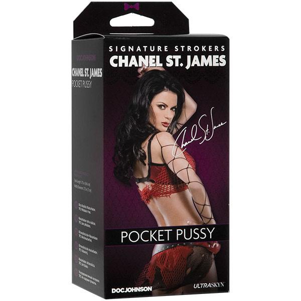 Doc Johnson Toys Chanel St. James ULTRASKYN Pocket Pussy