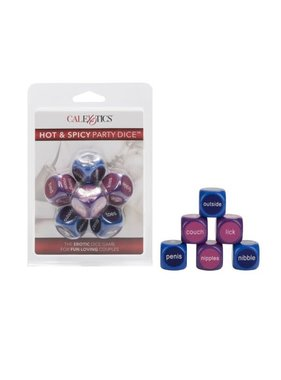 Cal Exotics Hot & Spicy Party Dice