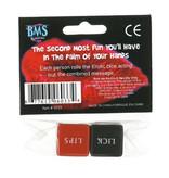 BMS Enterprises Erotic Dice (Red/Black)