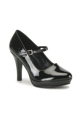 Pleaser USA CONTESSA-50X Gangster Mary Jane Shoe (Wide)