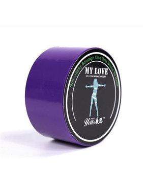 Premium Products Pleasure Bondage Tape (Purple)