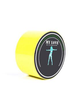 Premium Products Pleasure Bondage Tape (Yellow)