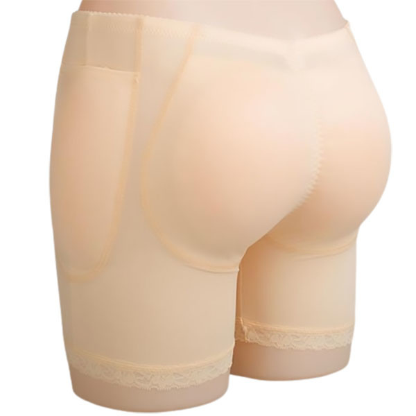 Premium Products Hip & Butt Enhancement Underwear with Silicone Pads (Tan)