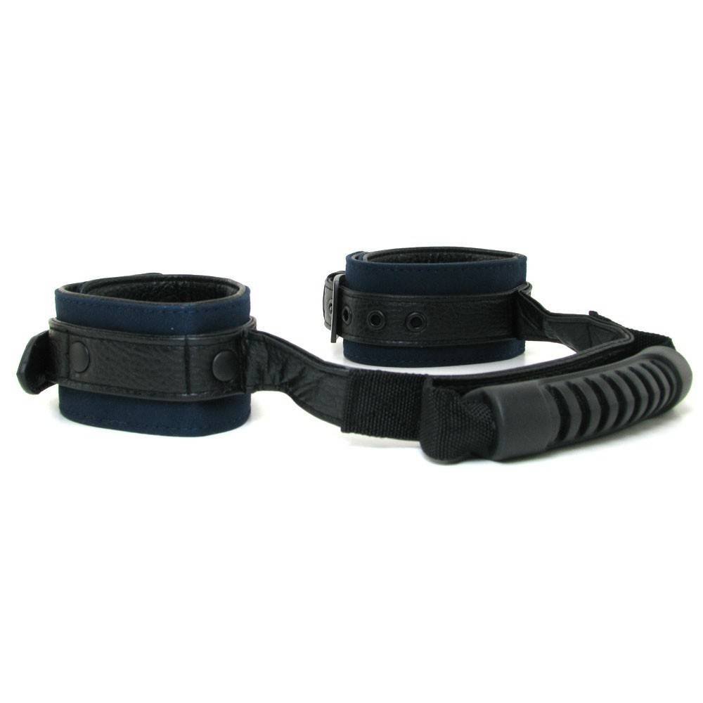 Doc Johnson Toys James Deen Black & Blue Right There G-Spotting Strap