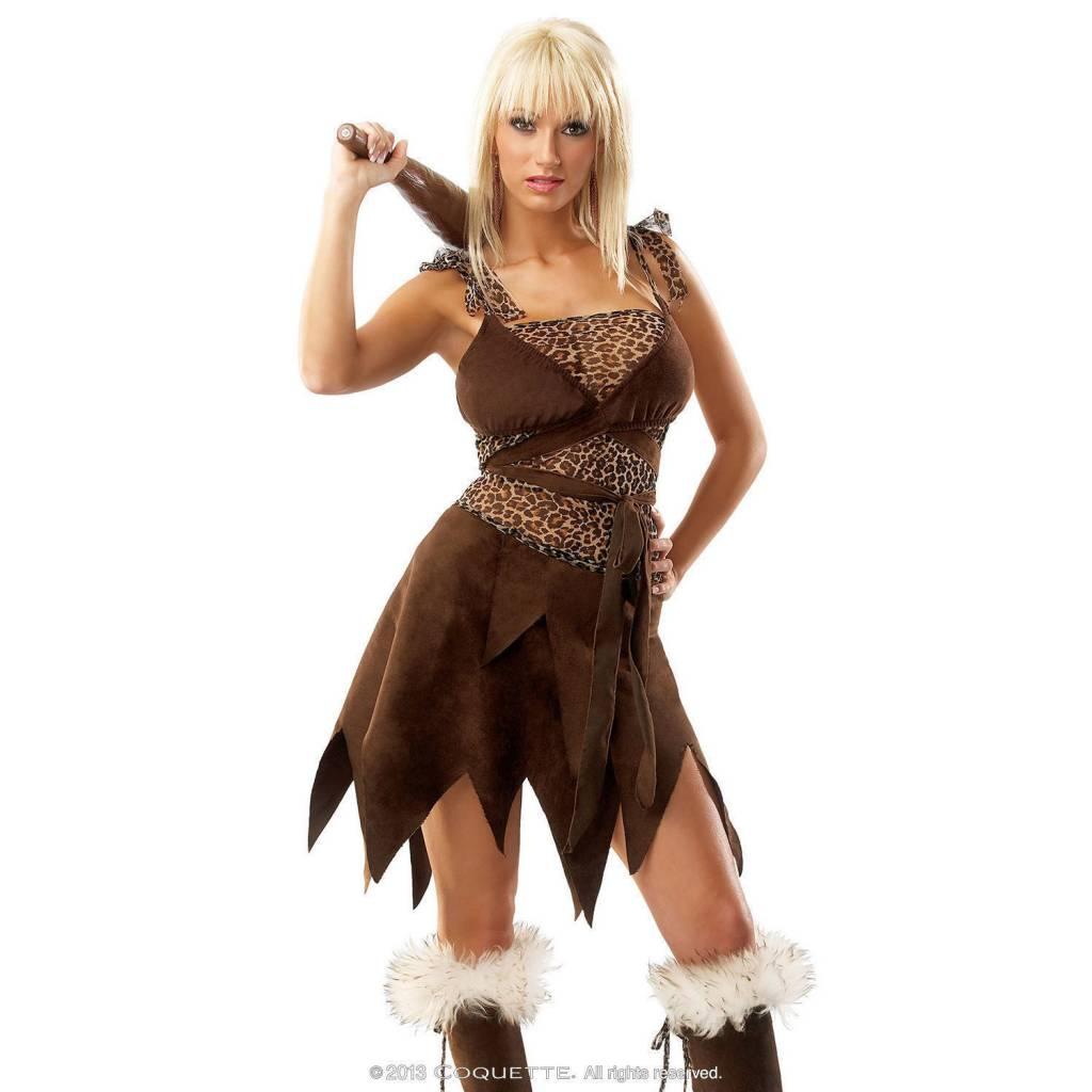 Coquette International Lingerie (Costume) Cavegirl - S/M