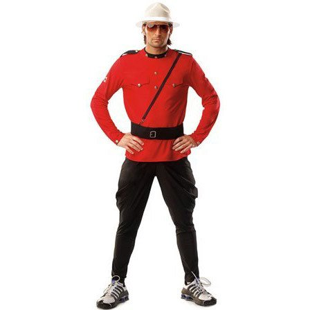 (Costume) Mountie - l/xl