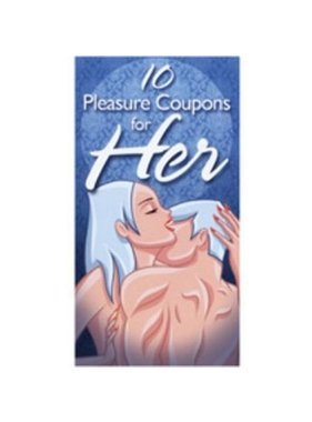 Ozze Creations 10 Pleasure Coupons for Her