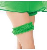 Coquette International Lingerie Coquette Gathered Mesh Leg Garter