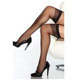 Coquette International Lingerie Sheer Thigh High Stockings