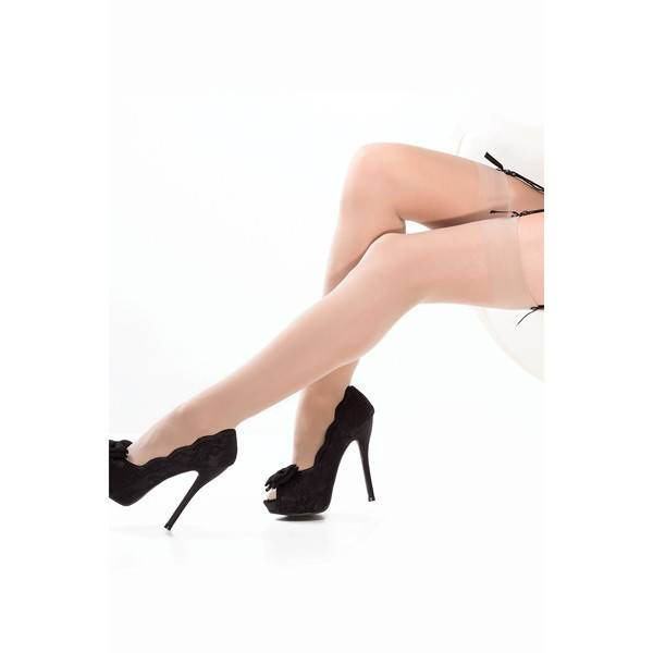 Coquette International Lingerie Coquette Sheer Thigh High Stockings (One Size)