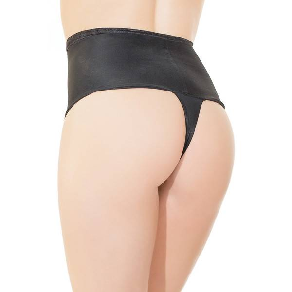 Coquette International Lingerie High Waisted Thong (One Size)
